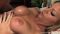 Brianna Brooks is a fine blonde who knows how to please a big dick
