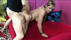 Telly's sexy feet get a long shaft ready to pound her fiery snatch
