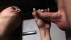Big breasted Gabriella Banks getting her snatch fucked by an older guy
