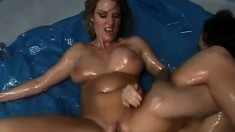 Aggressive blonde babe needs to have her dripping wet gash licked