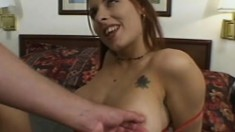Morgan Taylor has a foot fetish and it's all about the sexy painted toes and fucking pussy