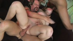 Sweet young blonde with lovely tits Haley Scott gets double penetrated
